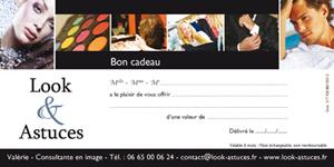 Bon cadeau Look & Astuces